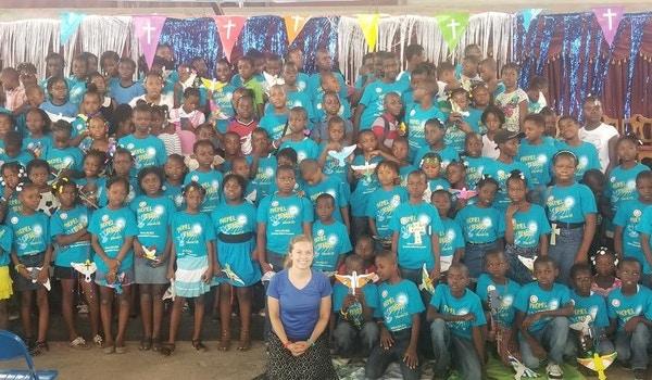 Vacation Bible School, Redford Church In Cap Haitien T-Shirt Photo
