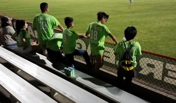 An Ebening At The Ball Park T-Shirt Photo