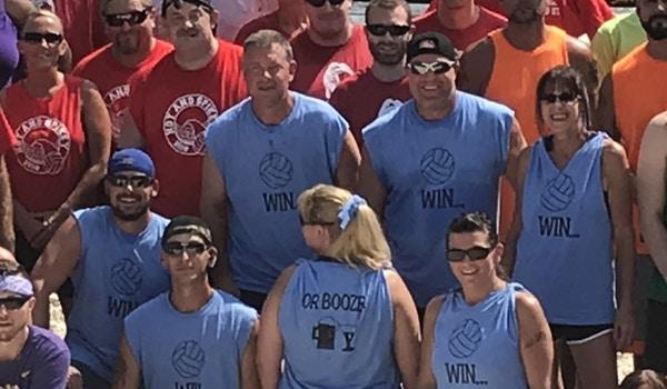 True Volleyball Tournament T-Shirt Photo