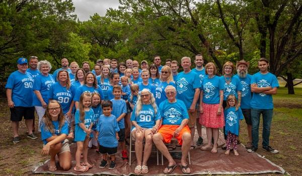 Hester Wilson 90th Birthdays T-Shirt Photo