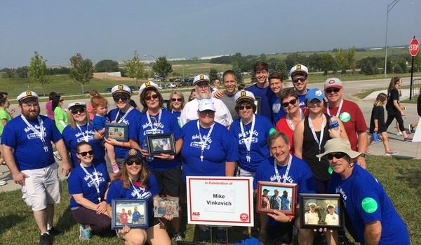 Walk To Defeat Als...Because Others Can't T-Shirt Photo