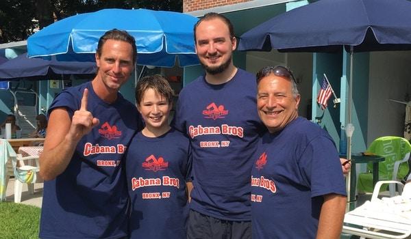 Cabana Bros Swim Team T-Shirt Photo