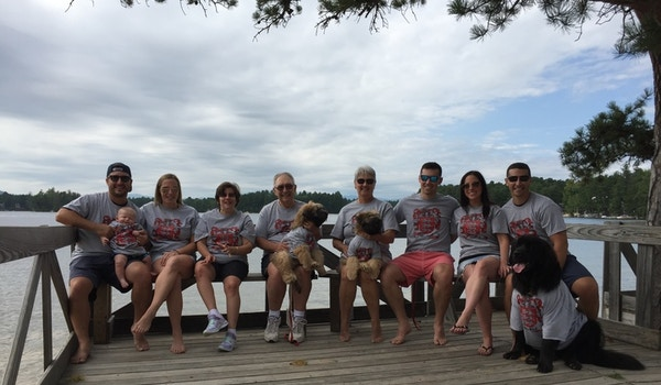 Bouchard Family Gathering At Camp Marist Labor Day Weekend T-Shirt Photo