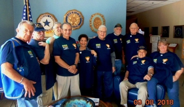 Fra Honors Fallen Vets By Supporting Wreaths Across America T-Shirt Photo