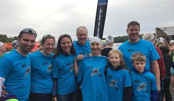 Triathlon Support Team T-Shirt Photo