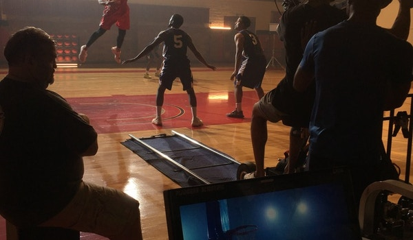 On Set With Shot Tracker! T-Shirt Photo