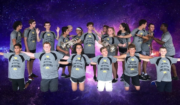 Out Of This World French Horn Section T-Shirt Photo