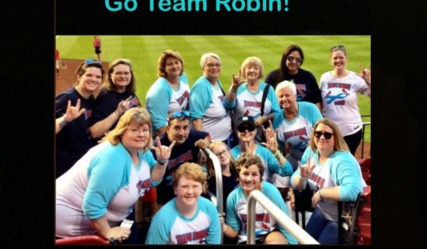 Team Robin Is In The Game To Win! T-Shirt Photo