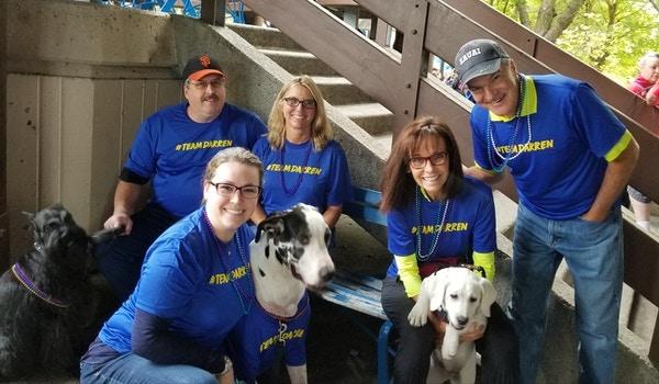 Suicide Prevention Walk   Team Darren T-Shirt Photo