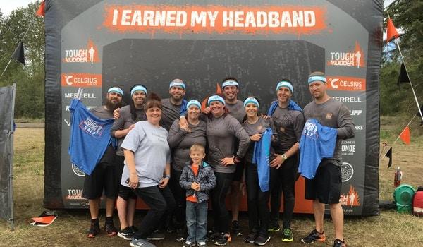 Daemeon's Army At Tough Mudder Seattle T-Shirt Photo