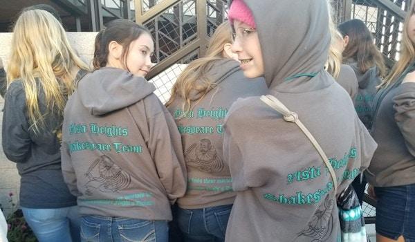 Vista Heights Shakespeare Team T-Shirt Photo