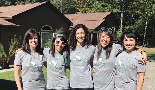 Spicy Sisters Run Club  T-Shirt Photo
