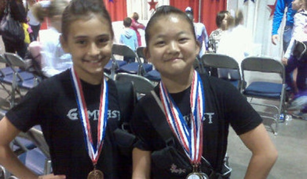 Natalie And Cherry Showing Off Their Bling At 2009 State T-Shirt Photo