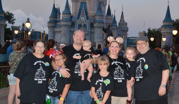 Ientile Family Walt Disney World Vacation T-Shirt Photo