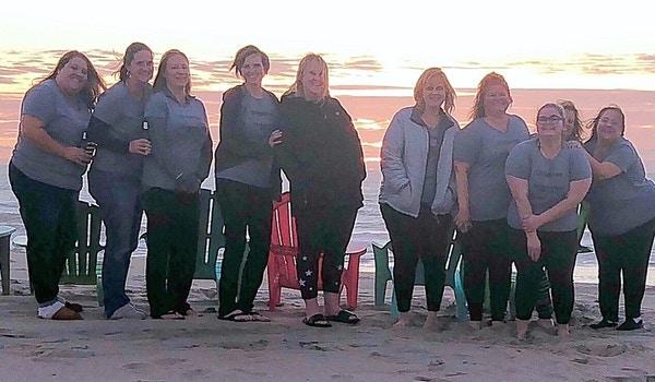 15th Anniversary Of Girls Beach Weekend T-Shirt Photo