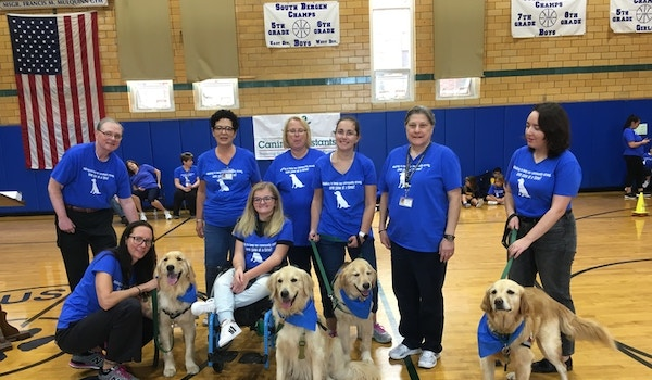 Walking To Keep Our Community Strong One Paw At A Time! T-Shirt Photo