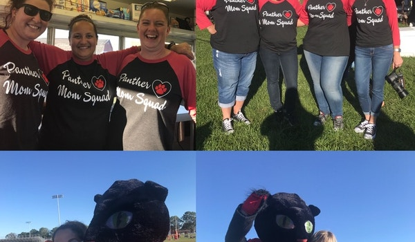 Panther Mom Squad T-Shirt Photo