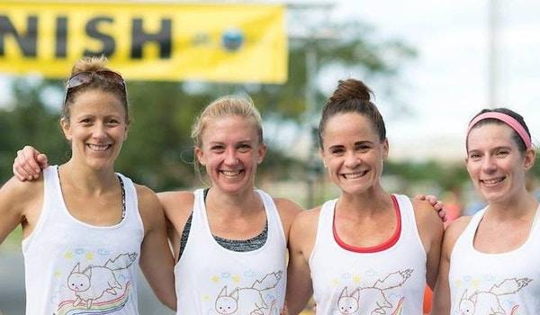 Team #Insta Bears At The Pretzel Twist 5k, For The Win T-Shirt Photo