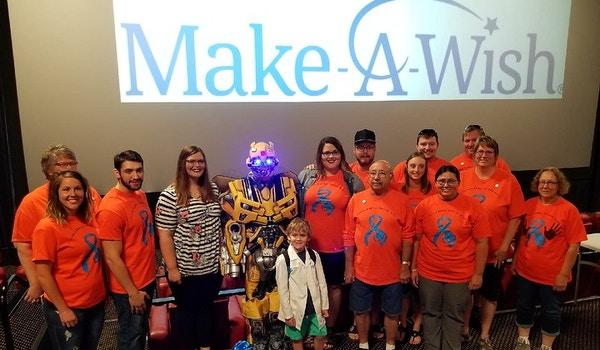 Blake's Make A Wish T-Shirt Photo