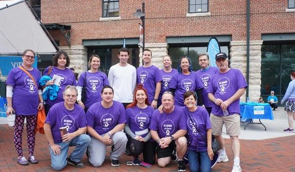 Team Laur At The Lun Gevity Lung Cancer Walk In Baltimore T-Shirt Photo