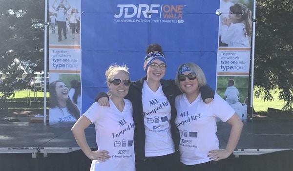 Jdrf 1 Walk  T-Shirt Photo