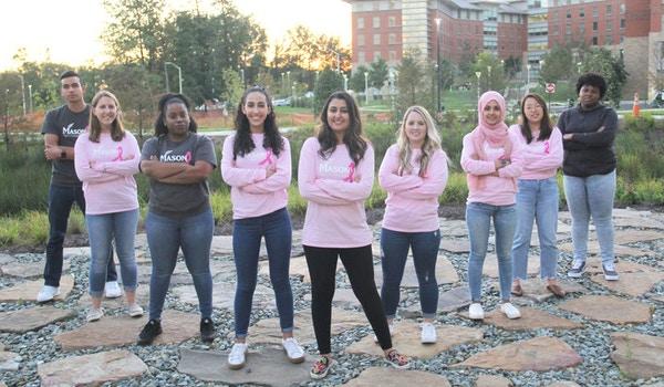 George Mason University School Of Nursing: Fight. Hope. Cure. T-Shirt Photo