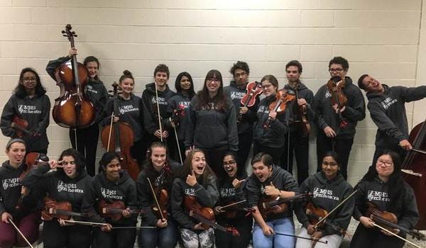 Mansfield High School Orchestra  T-Shirt Photo