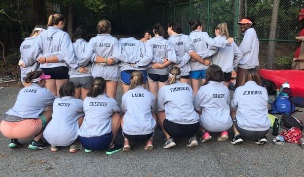 Varsity Girls Crew T-Shirt Photo