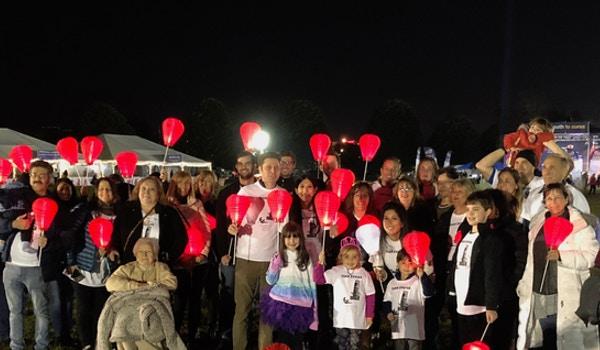 Team Evviva Lights The Night For The Leukemia & Lymphoma Society T-Shirt Photo
