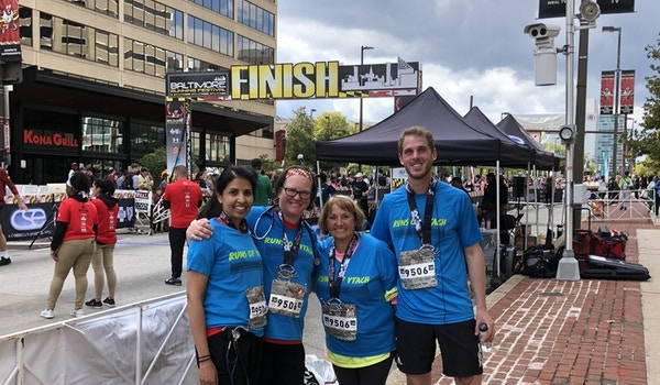Runs Of Vtach At The Baltimore Running Festival T-Shirt Photo