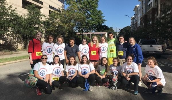 Sanderson Pals Walk For Autism T-Shirt Photo