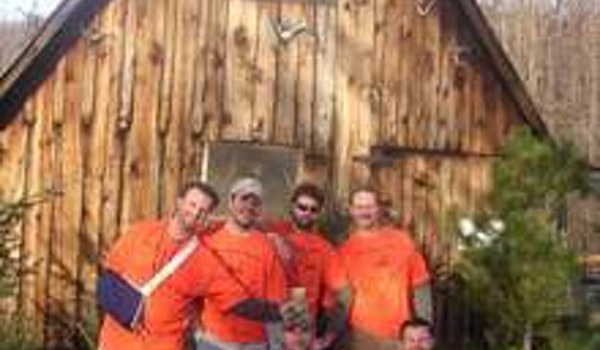 Good Times At The Hunting Cabin T-Shirt Photo