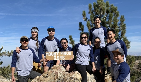Friends Who Fantasy Football Together, Hike Together. T-Shirt Photo