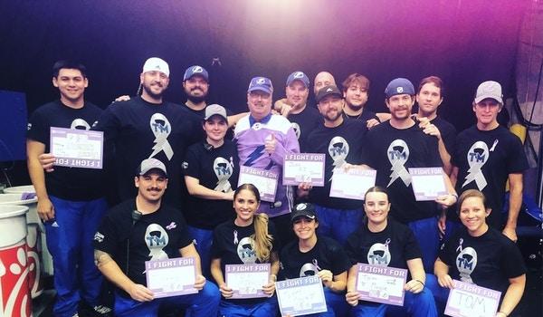 Ice Crew Surprises Zamboni Driver For Hockey Fights Cancer Night 2018  T-Shirt Photo