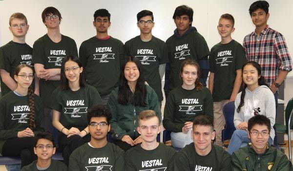 Vestal High School Mathletes T-Shirt Photo