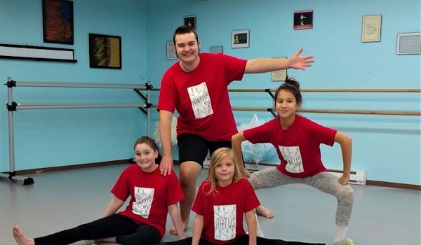 Motus Dancers Love Their Shirts! T-Shirt Photo