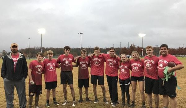 Flag Football (Mud Bowl) Crew T-Shirt Photo