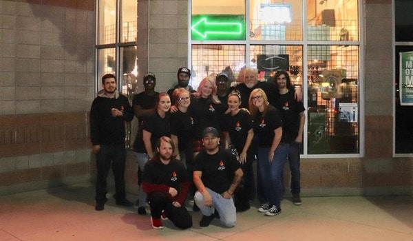 Team Rusty's Vape Comp T-Shirt Photo