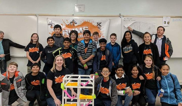 Rolling Hills Middle School Science Olympiad Team T-Shirt Photo