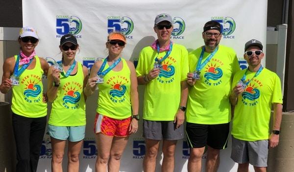 Oceans50 Relay Race T-Shirt Photo