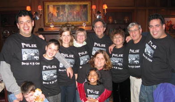 """Family """"Rocks 4 A Cure"""" With 12 Year Old Rock Star! T-Shirt Photo"""