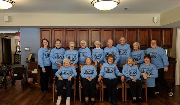 Fox Manor Residents At Lourdes Senior Community T-Shirt Photo
