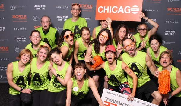 A Team @ Cycle For Survival 2019 T-Shirt Photo