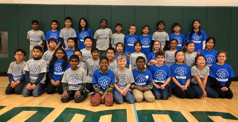2019 Elementary Science Olympiad Team T-Shirt Photo