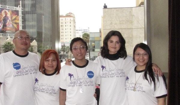 Selena Gomez And The Lupus Warrior Llc T-Shirt Photo