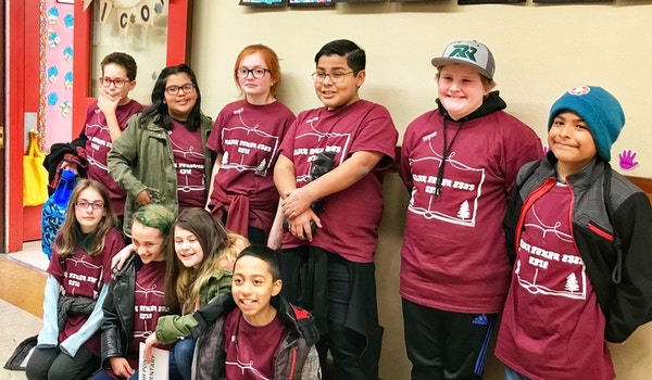 Salish Ponds Students At The Obob Regionals T-Shirt Photo