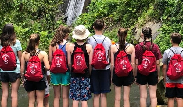 The Red Bag Brigade T-Shirt Photo