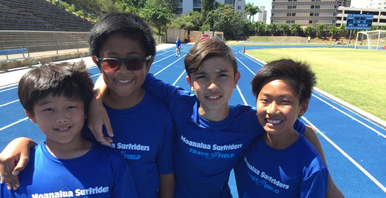 Track Returns To Moanalua School T-Shirt Photo