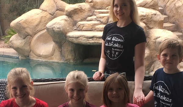 The Arizona Wildflowers Bluegrass Sisters (With Little Bro Sitting In!) T-Shirt Photo
