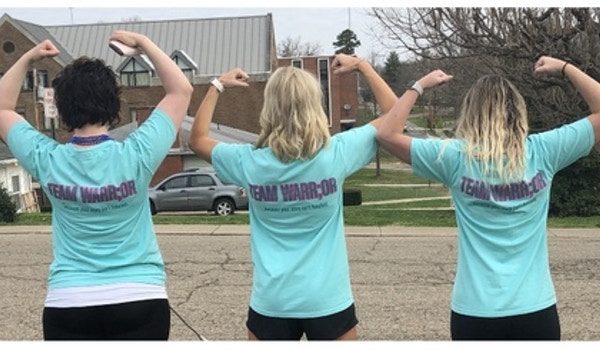 Team Warr;Or   ; ...Because Your Story Isn't Finished. T-Shirt Photo
